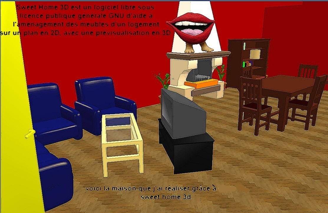 sweet home 3d coll ge paul eluard. Black Bedroom Furniture Sets. Home Design Ideas